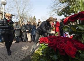 Homenaje a Buesa y su escolta en el 15º aniversario de su muerte a manos de ETA