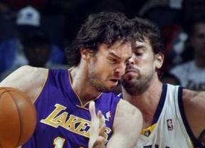 Duelo de 'Gasoles': Marc se le sube a las barbas a Pau en la victoria de los Grizzlies ante los Lakers (108-103)