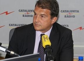 Polémica bordeando el insulto en el Barça: Laporta llama