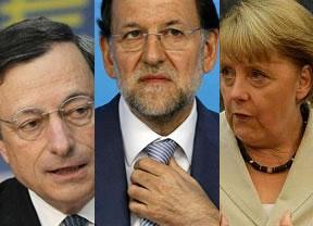 Hoy se decide el futuro próximo de España: estamos en manos de Draghi y Merkel