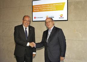 Repsol y Cruz Roja firman un convenio marco para ayudar a los colectivos más vulnerables
