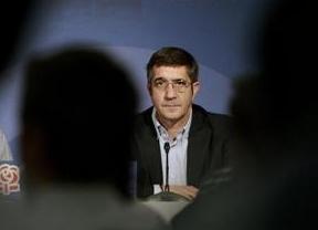 Patxi López mide con calma fuerzas y apoyos en el PSOE antes de lanzarse a por el puesto de Rubalcaba
