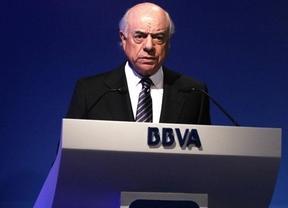 BBVA, como el Santander, también ganó un 35% menos al realizar ajustes internos