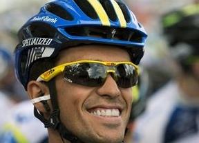 Orica ganó la crono por equipos; Gerrans, primer líder y Contador, a 7 segundos
