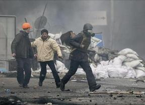 La presidencia de Ucrania anuncia un acuerdo tras la sangrienta jornada del jueves