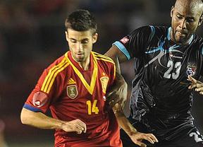 El criticado Susaeta silenció críticas regalando un gol a España en su debut