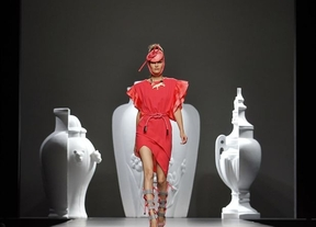 La toledana Ana Locking, protagonista de la cuarta jornada de la Fashion Week en Madrid