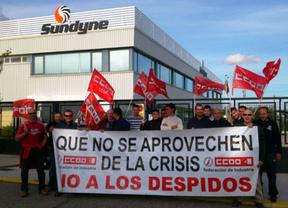 Movilización en Sundyne contra el goteo de despidos en la emblemática fábrica de Illescas