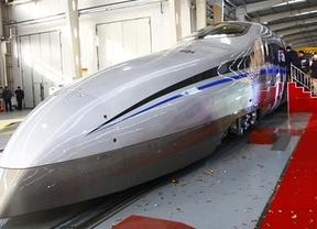 Así es el tren-bala: China prueba sus 500 kilómetros por hora