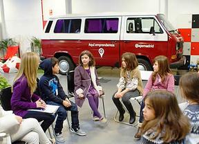 Los Jóvenes Empresarios de Madrid llevan la cultura emprendedora a los más pequeños con AJE Kids