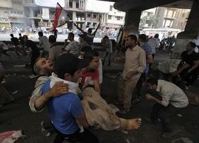 Protesta multitudinaria del 'Viernes de la Ira' en Egipto donde han fallecido, al menos, 550 personas en total