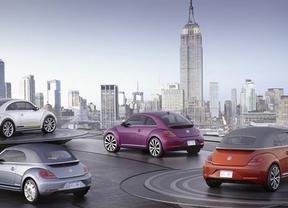 Volkswagen desvela en Nueva York cuatro nuevas versiones del Beetle