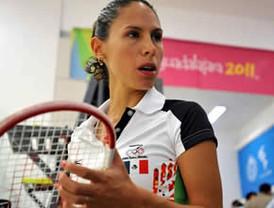 Consigue Samantha Terán otra presea de oro en squash