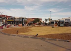La travesía Avenida IV Centenario de Quintanar de la Orden se abrirá al público a mediados de mayo