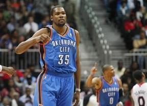 Kevin Durant sucede a LeBron James como MVP de la NBA