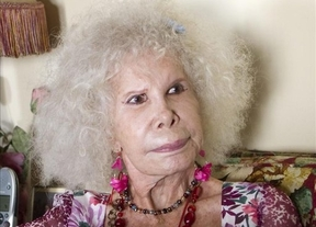 La Duquesa de Alba, ingresada en un hospital de Sevilla