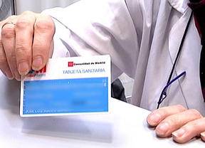 Perder, romper o sufrir robo de la tarjeta sanitaria costará 10 euros en Madrid
