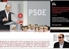 Anonymous se desvincula del ataque a la web de Rubalcaba y el PSOE apunta a grupos de extrema derecha