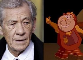 La nueva versión de 'La Bella y la Bestia' contará con Ian McKellen como Ding Dong