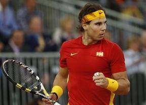 Nadal vuelve al equipo de Copa Davis para ganar la permanencia ante Ucrania