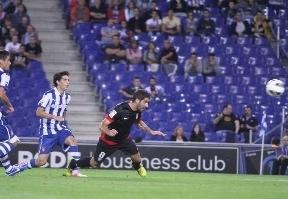 Raúl García hace de Falcao ante el Espanyol y mantiene al 'Superatleti' segundo en la tabla (0-1)