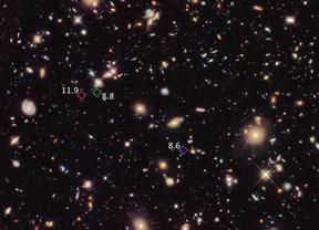 El Hubble da un paso más hacia la comprensión del nacimiento del universo: halla 7 galaxias primitivas