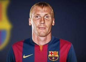 El central francés Mathieu, nuevo jugador del Barça para tapar huecos atrás