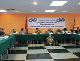 CNP analiza situación de periodistas venezolanos