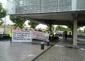 Los trabajadores de Ambuibérica Guadalajara protestan en Toledo por las