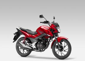 Honda presenta la nueva CB125F, con bajos consumos y mayor facilidad de conducción