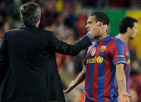 Mourinho volvió a hacer de las suyas en el último Clásico: insultó gravemente a Dani Alves