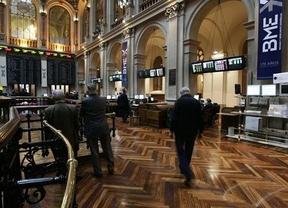 El Ibex amortiguó el desplome total tras el arrastre de la banca europea