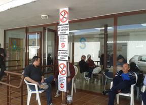 32 días de encierro en Malpica de Tajo contra los recortes sanitarios