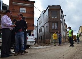Riada en Fuentes (Cuenca): 'la mitad del pueblo está anegado por el barro'