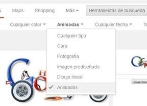 Google perfila su 'búsqueda avanzada': ahora se pueden filtrar gifs animados e imágenes transparentes