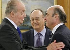 El Rey, captado por los micrófonos sobre el rescate bancario:
