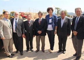 Cañete, segundo  por la izquierda en Lorca (Murcia)