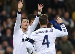 El Madrid sale dormido, pero acaba 'cenándose' a un Mallorca respondón (5-2)