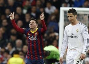 Messi e Iniesta gobiernan un partidazo loco en el Bernabéu del que se favorece el Atllético, nuevo líder (3-4)