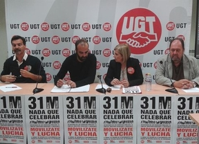 Los sindicatos llaman a movilizarse el Día de Castilla-La Mancha porque