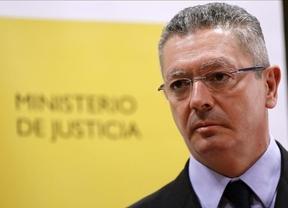 Más de 12.000 abogados de toda España se concentran contra la 'tasa Gallardón'