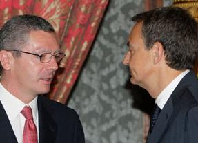 El Príncipe, Gallardón y Zapatero, representantes en el I Congreso Bienal de Seguridad Jurídica
