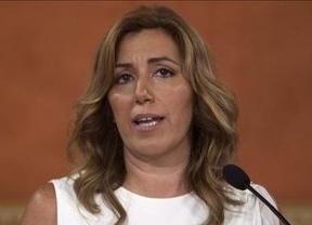 Susana Díaz obvia el debate de primarias, pide unidad al PSC y da su apoyo a Rubalcaba para regenerar el ideario