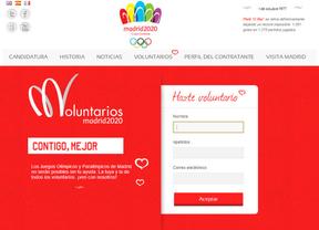 La web de Madrid 2020, adiós sin despedida