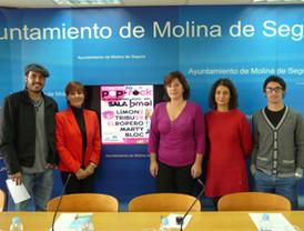 Presentación concierto a beneficio de Teléfono de la Esperanza en Molina de Segura