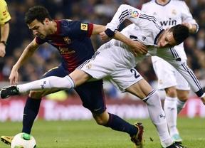 Suspense en la eliminatoria: Madrid-Barça, mucho fútbol, pocos goles y... la solución en el Camp Nou (1-1)