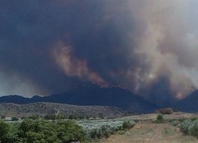 El fuego de Hellín habría quemado hasta 7.000 hectáreas