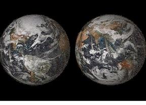 La NASA recrea la imagen de la Tierra con 36.422 'selfies'