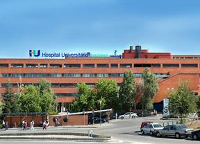 Las obras de mejora del aparcamiento de tierra del Hospital de Guadalajara, en julio
