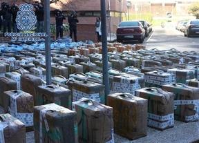 Detenidas 35 personas de una red que traficaba con hachís: Los almacenes estaban en Toledo